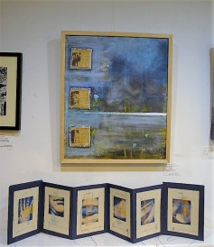 The painting 'Back Pain' and the book 'Metamorphosis: a self-examination''